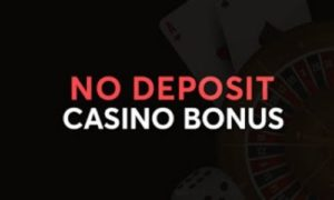 Take advantage of the no deposit and no-fee promotion